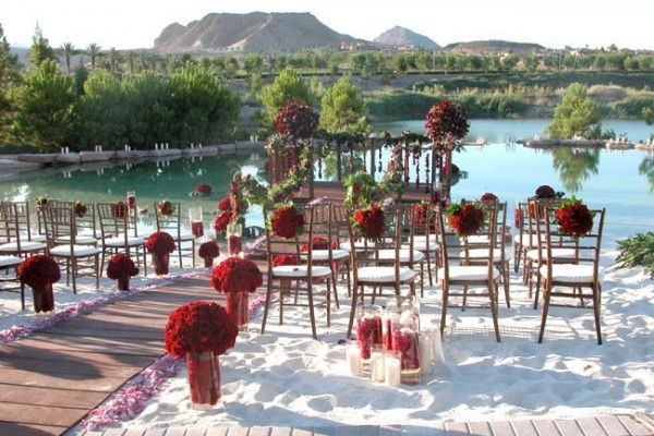 Interested in outdoor vegas weddings check venues from for Las vegas outdoor wedding packages