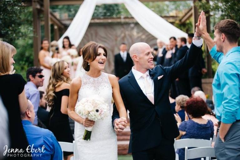 beautiful outdoor wedding