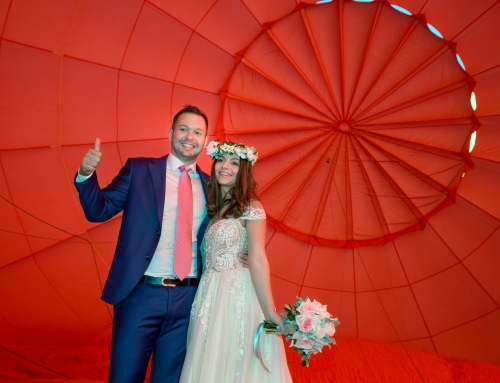 Hot Air Balloon Wedding anyone?